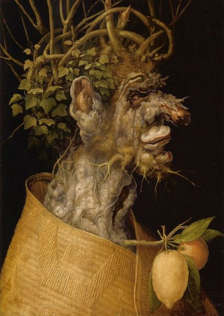 Arcimboldo, Giuseppe: Winter. Fine Art Print/Poster. Sizes: A4/A3/A2/A1 (002635)